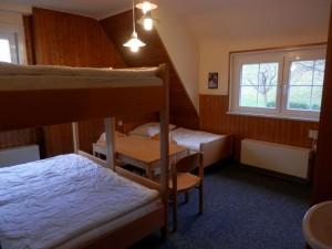 Zimmer 4 – Fünfbettzimmer